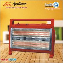 Quartz tube infrared heater, radiant tube heater