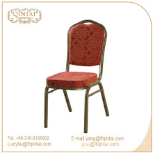 factory price stackable Upholstered vein banquet chair
