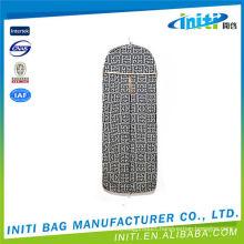 China manufacturer wholesale quality clear plastic zipper garment bag