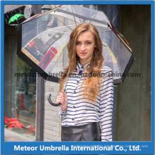 Outdoor Transparent Plastic PVC Poe Clear Promotion Bubble Umbrella