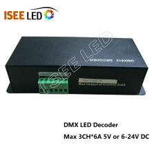 Decodificador de iluminación LED DMX a PWM