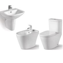 évier en céramique populaire et unité de toilette