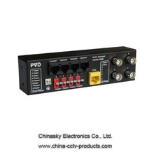 4CH Power/Video/Data Combiner Hub-End PVD304E