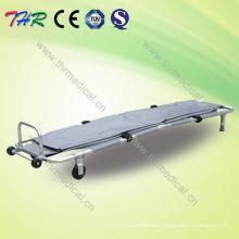 Hospital Stainless Steel Folding Mortuary Stretcher