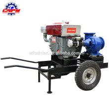 Der Verkauf der zentrifugalen Dieselmotorwasserpumpe der Ackerlandbewässerung