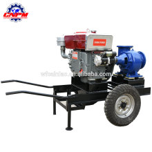 La venta de la bomba de agua del motor diesel centrífugo de la irrigación de las tierras de labrantío