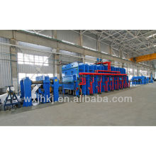 Conveyor belt press production line