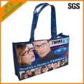 eco agradável logotipo reutilizável impresso saco de compras não tecido laminado