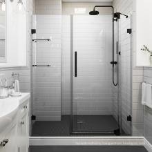 Seawin simply Style Swing bathroom screen Aluminium hardware Glass Shower Hinge Pivot Door