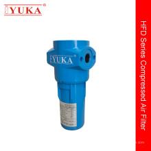 Cartucho de filtro coalescedor para compressor de ar