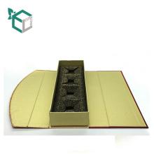 New Arrival Cardboard Art paper Folding Packaging Food Box for bottle