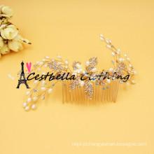 Hot Sale Pearl Headband Wedding Rhinestones Bridal Hair Accessories Headwear