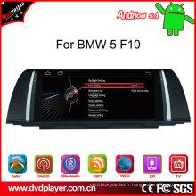 Auto stéréo Android 5.1 pour BMW 5 F10 3G Internet
