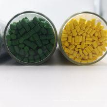 Yellow /Red/Pink/Blue/Green/Purple/Orange Plastic Masterbatch /Granules /Plastic Material