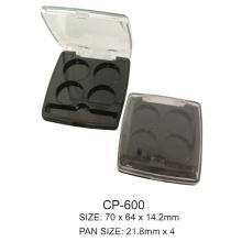 Square Plastic Compact Case Cp-600