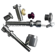 CNC Turned Aluminum Parts Connector Fitting Furniture Hardware Parts