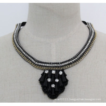 Ladies High Quality Fashion Crystal Collar Necklace (JE0177)