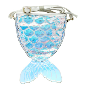 MERMAID1 LASER SEQUIN BACKPACK-0