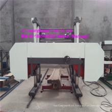 Sierra de cinta de madera grande Máquina de madera de serrería horizontal