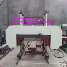 Grande machine à bois horizontale de scierie de scie à ruban en bois