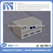 Manual 2 Port VGA Switch Box VGA Monitor Sharing Switch Box Adapter