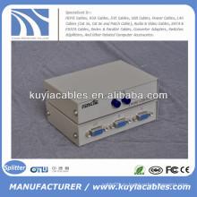 Руководство 2 порта VGA Switch Box VGA монитор Sharing Switch Box Adapter