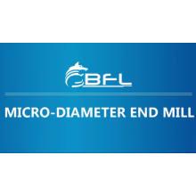 Tipo carboneto de revestimento do moinho de extremidade do cortador de trituração de BFL- 2016 micro carboneto de tungstênio