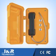 Téléphone VoIP, interphone d'urgence résistant aux vandales, combiné mains libres téléphone industriel