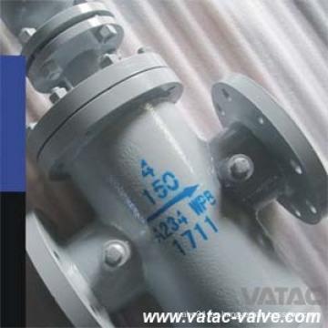 Pantalla de acero inoxidable / filtro Ss304L / Ss316L Colador de cesta con bridas