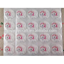 Mignon soldat crystal epoxy sticker design for wholesale