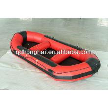 bote inflável, jangada de PVC