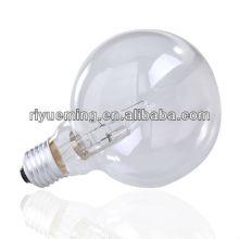 Bombilla halógena de ahorro de energía G80 Bombilla de luz regulable