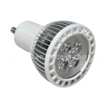 Diseño de la aleta 5W LED Bombilla GU10