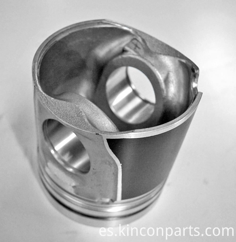 Piston Through Engine Block