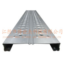 Steel Scaffolding Planks with Hook Used in Construction