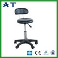 Хромированные доктор стул с регулируемой высотой