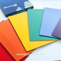 20 year warranty 3mm/4mm Alunewall FEVE glossy color aluminum composite panel facorty direct selling