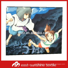 personalized microfiber printing cleaning cloth and bag for jewelery