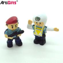 Wholesale custom high quality 3d cartoon hot toys action figures