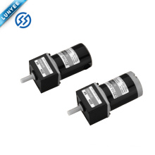 250w 24/90/220v high speed high torque brushed dc gear motor with gearbox