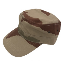 Army Military Cap Metal Eyelet Men Casquette Hats and Caps China Manufacturer Running Flat Top Cotton Baseball Cap Custom Color