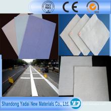 Geotêxtil não tecido de grande resistência do polipropileno da fibra de grampo para a agricultura