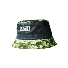Хлопок 100% напольный Camo воинский шлем ведра (U0044B / 46)