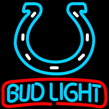 BUD LIGHT INDIANAPOLIS COLTS LED ENSEIGNE AU NÉON