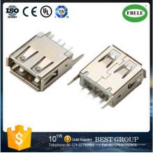 Conector USB mini RB45 Fbusba2-112 Conector USB tipo B Conector USB dual (FBELE)