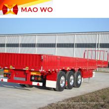 Trailer de caminhão com parede lateral de carga de 60 toneladas de alta qualidade