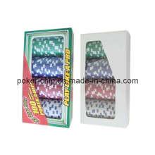 100PCS Poker Chip Set dans la boîte cadeau (SY-S04)