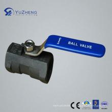 1PC válvula de esfera de aço inoxidável