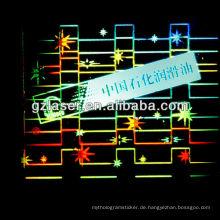 Hologramm ps Stoßfänger Platten