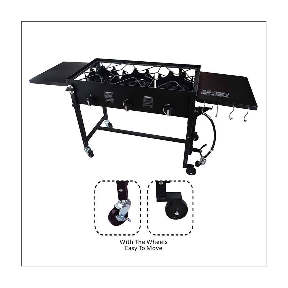 3 Burner Electric Cooktop